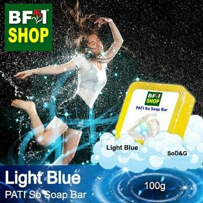 (PSSB) PATI SoD&G - Light Blue - Soap Bar - 100g