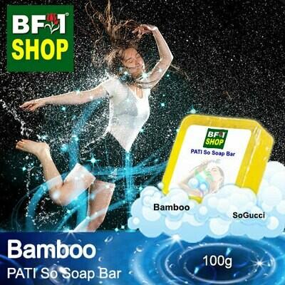 (PSSB) PATI SoGucci - Bamboo - Soap Bar - 100g