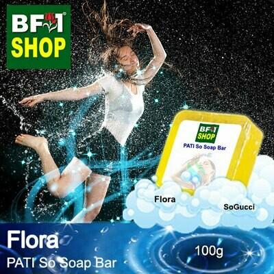 (PSSB) PATI SoGucci - Flora - Soap Bar - 100g
