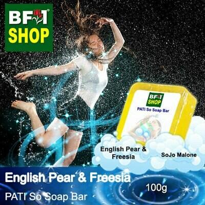 (PSSB) PATI SoJo Malone - English Pear & Freesia - Soap Bar - 100g