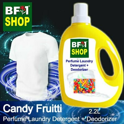 (PLDD) Perfume Laundry Detergent + Deodorizer - WBP Candy Fruitti - 2.2L