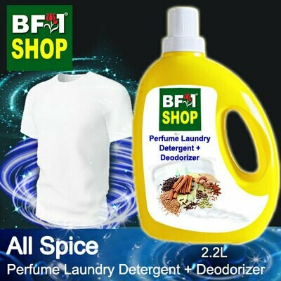 (PLDD) Perfume Laundry Detergent + Deodorizer - WBP All Spice - 2.2L
