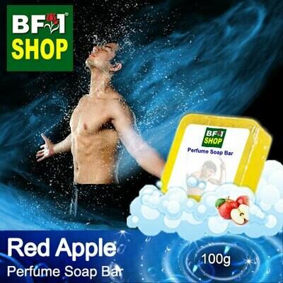 (PSB1) Perfume Soap Bar - WBP Apple Red Apple - 100g