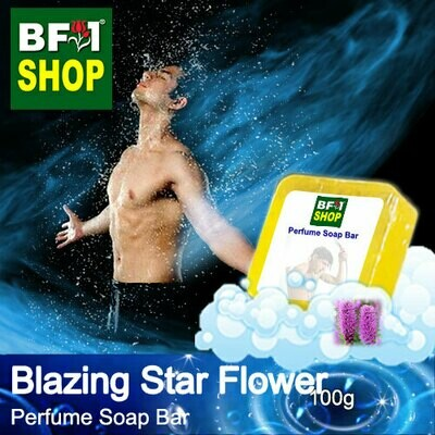 (PSB1) Perfume Soap Bar - WBP Blazing Star Flower - 100g