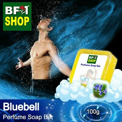 (PSB1) Perfume Soap Bar - WBP Bluebell - 100g