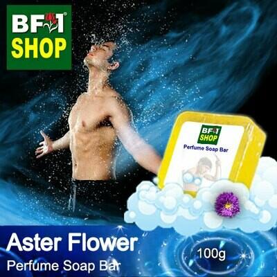 (PSB1) Perfume Soap Bar - WBP Aster Flower - 100g
