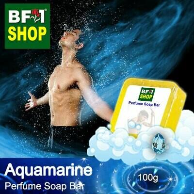(PSB1) Perfume Soap Bar - WBP Aquamarine - 100g