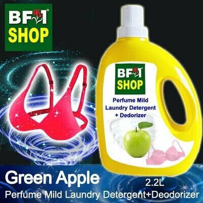 (PMLDD) Perfume Mild Laundry Detergent + Deodorizer - WBP Apple Green Apple - 2.2L