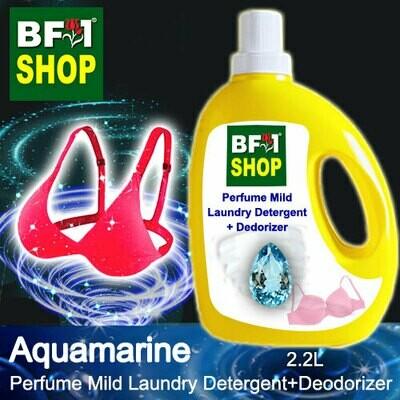 (PMLDD) Perfume Mild Laundry Detergent + Deodorizer - WBP Aquamarine - 2.2L