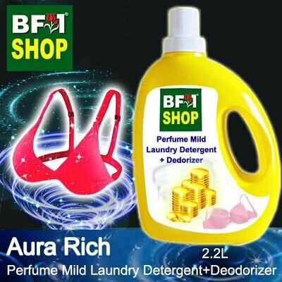 (PMLDD) Perfume Mild Laundry Detergent + Deodorizer - WBP Aura Rich - 2.2L
