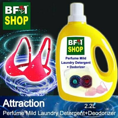 (PMLDD) Perfume Mild Laundry Detergent + Deodorizer - WBP Attraction - 2.2L