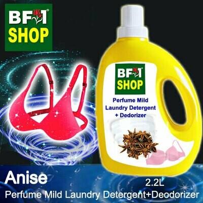 (PMLDD) Perfume Mild Laundry Detergent + Deodorizer - WBP Anise - 2.2L
