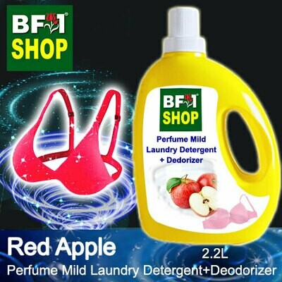 (PMLDD) Perfume Mild Laundry Detergent + Deodorizer - WBP Apple Red Apple - 2.2L