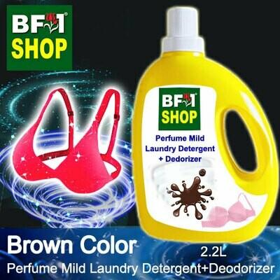 (PMLDD) Perfume Mild Laundry Detergent + Deodorizer - WBP Brown Color - 2.2L