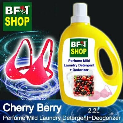 (PMLDD) Perfume Mild Laundry Detergent + Deodorizer - WBP Cherry Berry - 2.2L