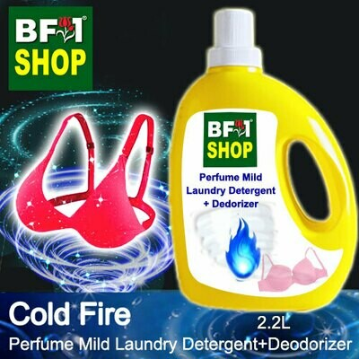 (PMLDD) Perfume Mild Laundry Detergent + Deodorizer - WBP Cold Fire - 2.2L