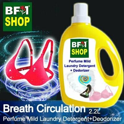 (PMLDD) Perfume Mild Laundry Detergent + Deodorizer - WBP Breath Circulation - 2.2L