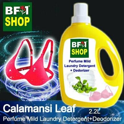 (PMLDD) Perfume Mild Laundry Detergent + Deodorizer - WBP Calamansi Leaf - 2.2L