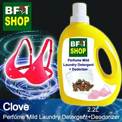 (PMLDD) Perfume Mild Laundry Detergent + Deodorizer - WBP Clove - 2.2L