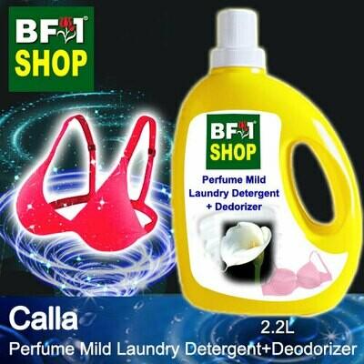 (PMLDD) Perfume Mild Laundry Detergent + Deodorizer - WBP Calla - 2.2L