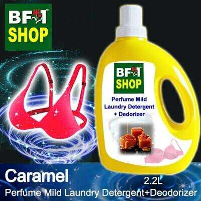 (PMLDD) Perfume Mild Laundry Detergent + Deodorizer - WBP Caramel - 2.2L