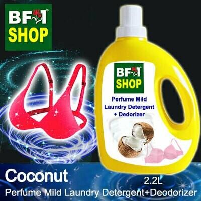 (PMLDD) Perfume Mild Laundry Detergent + Deodorizer - WBP Coconut - 2.2L