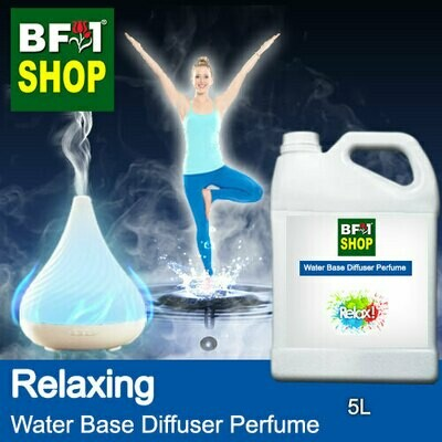 Aromatic Water Base Perfume (WBP) - Aura Relaxing - 5L Diffuser Perfume