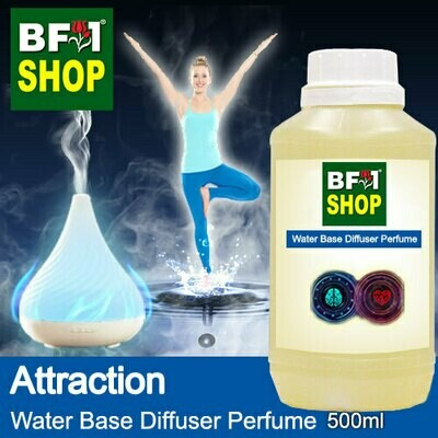 Aromatic Water Base Perfume (WBP) - Attraction - 500ml Diffuser Perfume