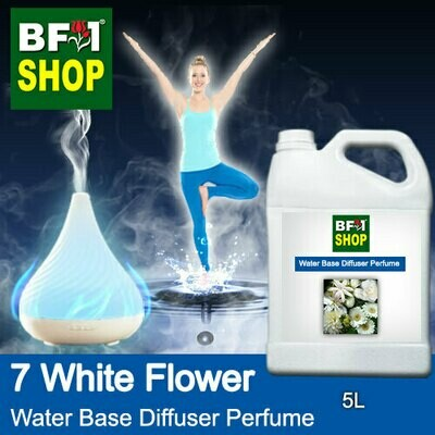 Aromatic Water Base Perfume (WBP) - 7 White Flower - 5L Diffuser Perfume