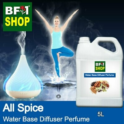 Aromatic Water Base Perfume (WBP) - All Spice - 5L Diffuser Perfume