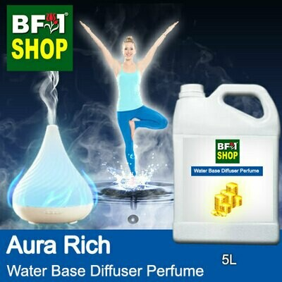 Aromatic Water Base Perfume (WBP) - Aura Rich - 5L Diffuser Perfume