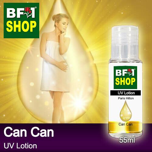 (UVL) PwDParis Hilton - Can Can UV Lotion - 55ml Woman SPF-45