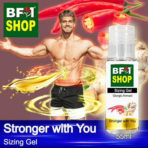 (SG) SpCGiorgio Armani - Stronger with You Sizing Gel - 55ml - Man