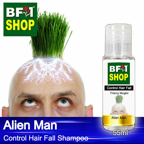 (CHFS) AmBThierry Mugler - Alien Man Control Hair Fall Shampoo - 55ml - Man