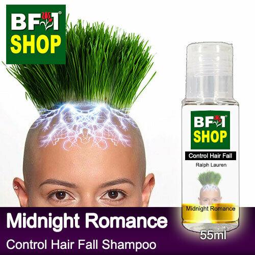 (CHFS) AmBRalph Lauren - Midnight Romance Control Hair Fall Shampoo - 55ml Woman