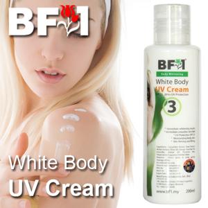 White Body UV Cream - 200ml