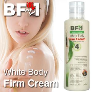 White Body Firm Cream - 200ml