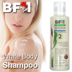 OEM - White Body Shampoo - 200ml X 100pcs