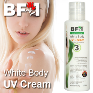 White Body UV Cream - 200ml