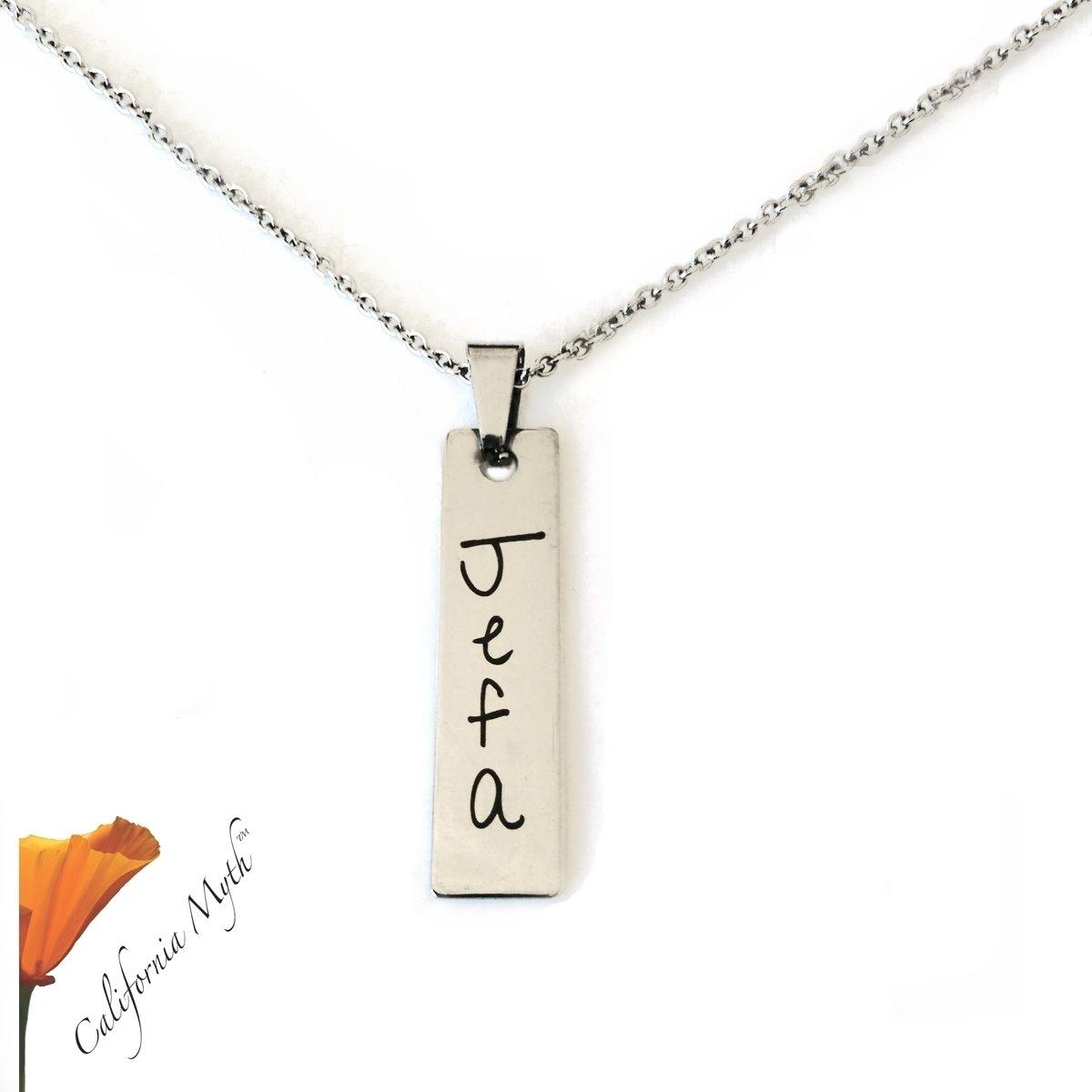 Jefa Pendant Necklace