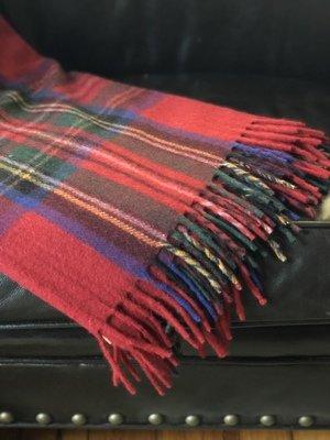 Stewart Royal Tartan Recycled Wool Blanket