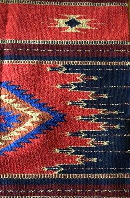 Vibrant Hand-Woven Rug
