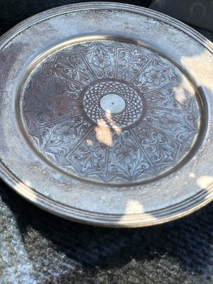 Stately Silver Plates