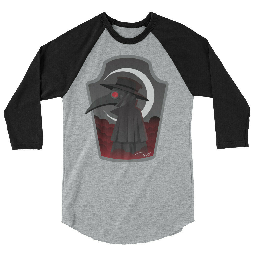 Plague Doctor Raglan Shirt