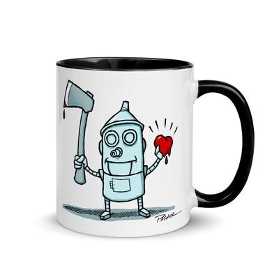 He Found his Heart!! - Tin Man Mug