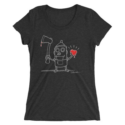 Ladies' Tin Man Outline