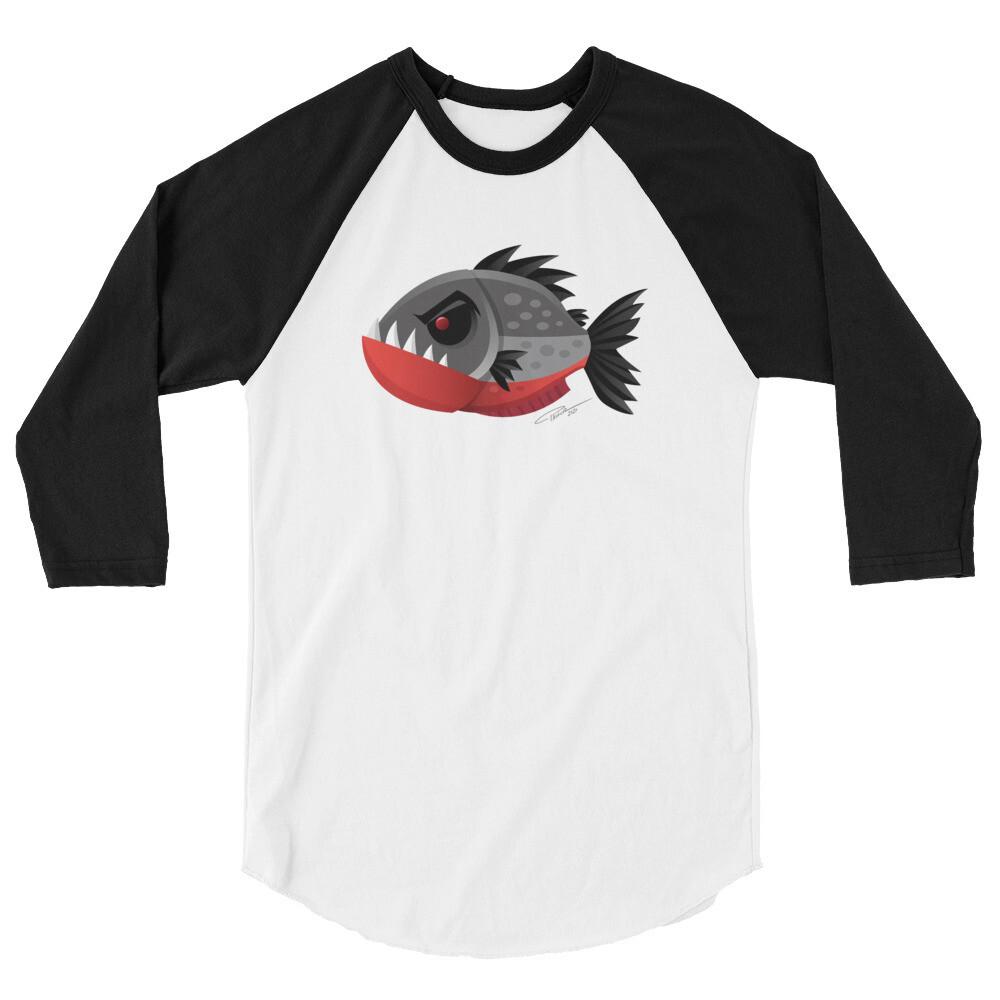 Piranha Raglan Shirt