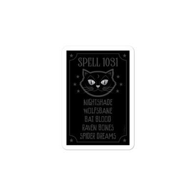 Spell 1031 Sticker