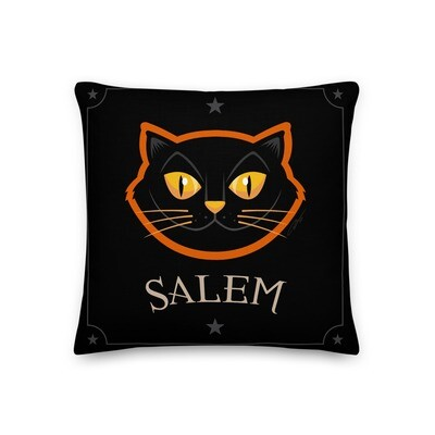 Salem Cat Pillow