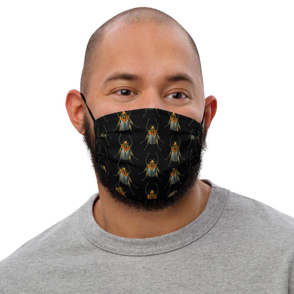 Beetle face mask